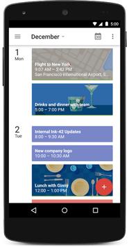 Google Calendar Mobile