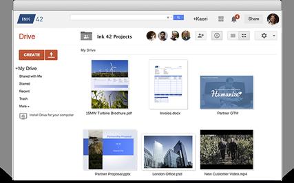 Google Drive File Browser