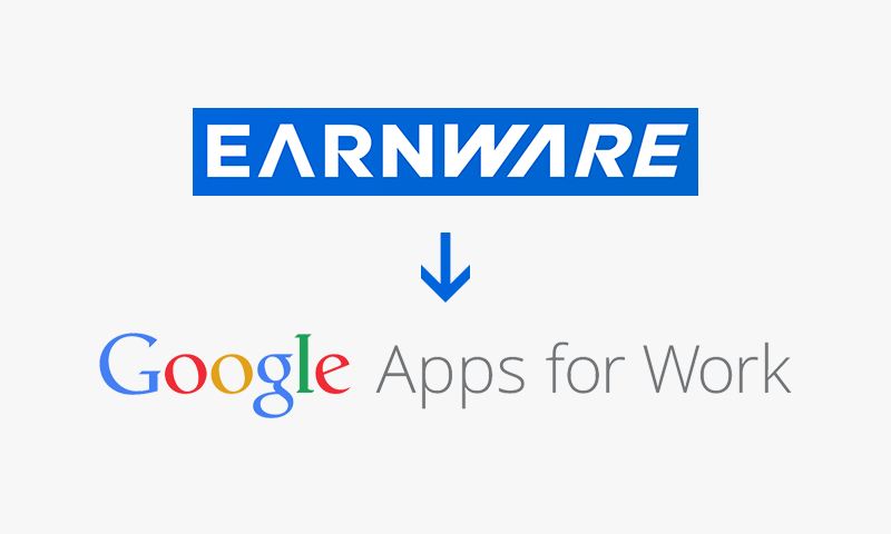Earnware to Google Apps