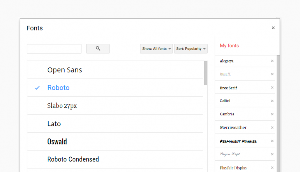 Adding Fonts To Google Docs