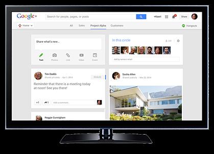 Google+ Content