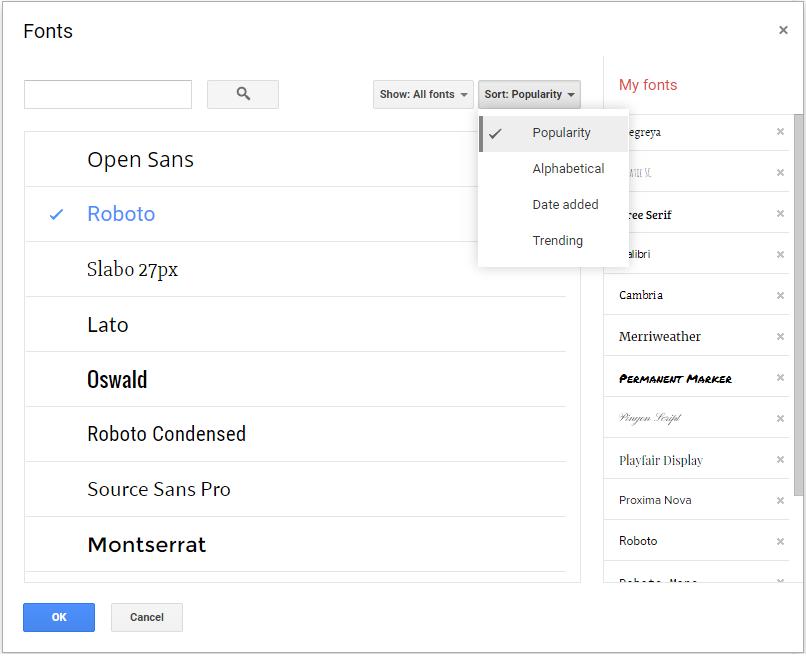 Google Tip: Adding additional fonts to Google Docs - SimCloud
