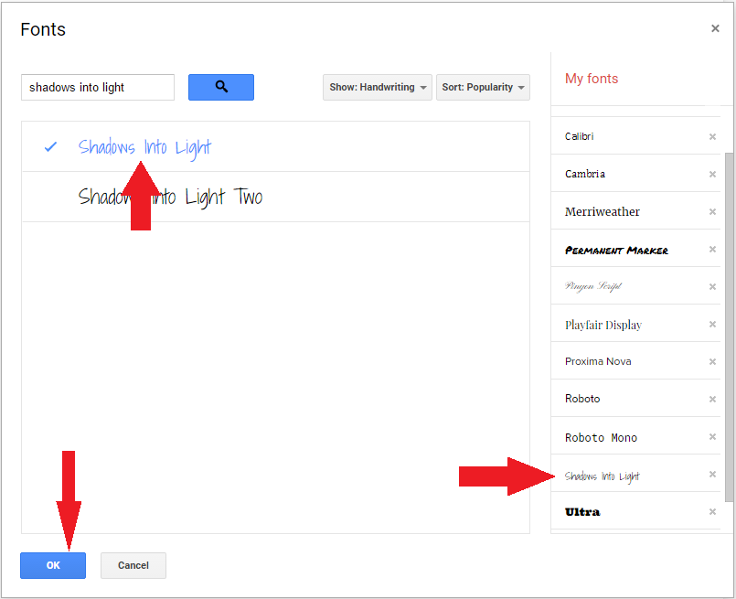Google Tip: Adding additional fonts to Google Docs - SimCloud