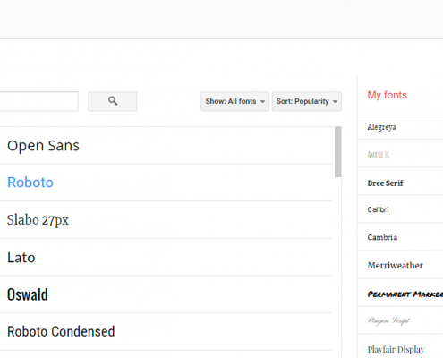 Adding Fonts To Google Docs